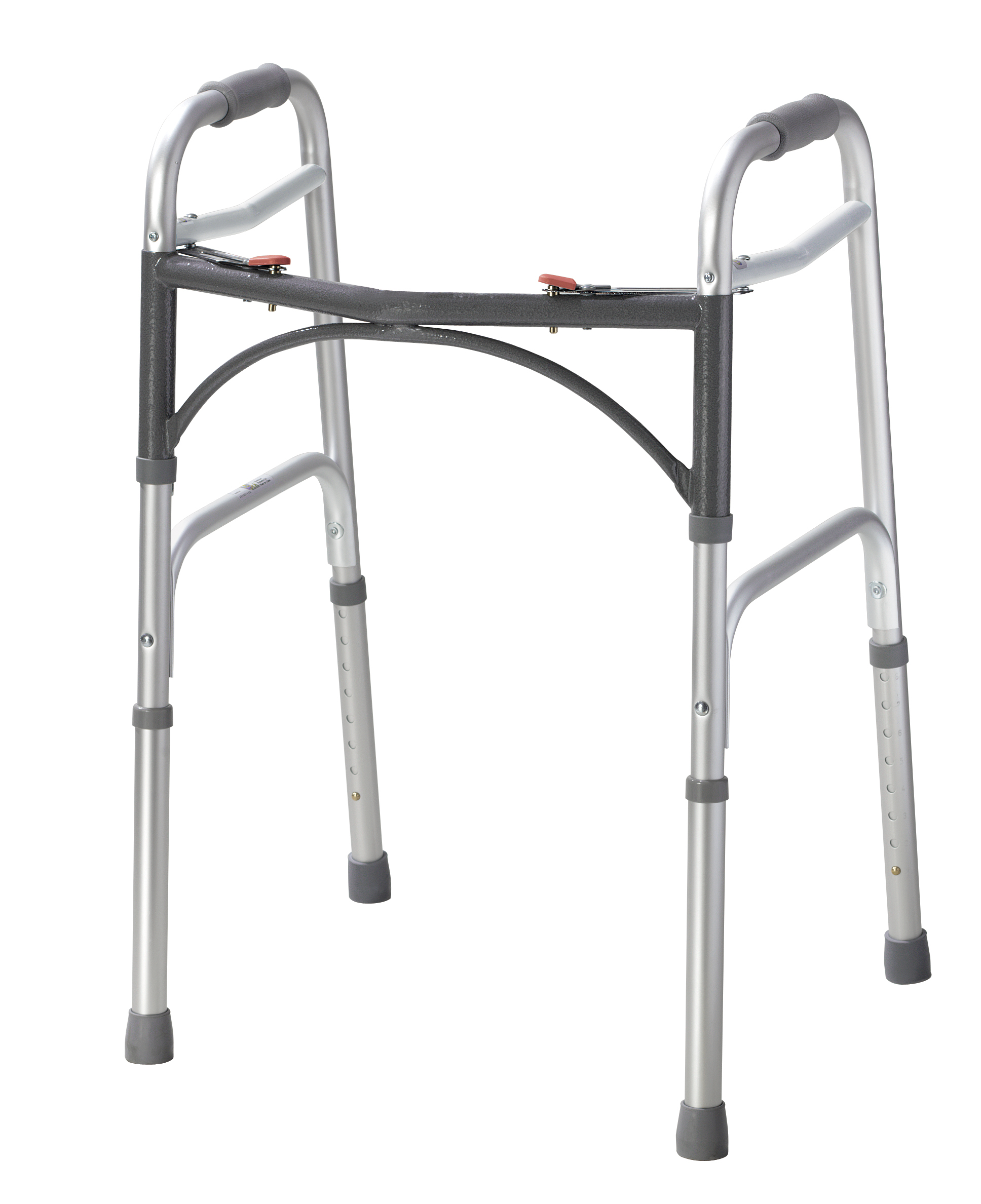 Drive Medical - Deluxe Two Button Folding Walker