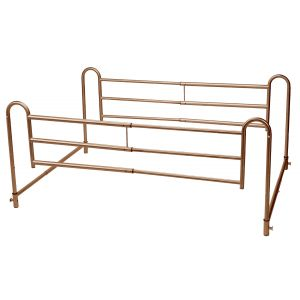 Home Bed Style Adjustable Length Bed Rails