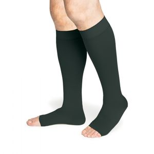 Sigvaris - 550 Secure Knee-High With Grip-Top Open-Toe 20-30mmHg