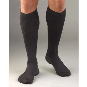 Activa - Men's Dress Socks Knee-High Dress Microfiber 20-30 mmHg