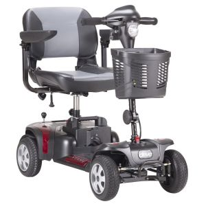 Drive Medical - Phoenix Heavy Duty Power Scooter, 4 Wheel