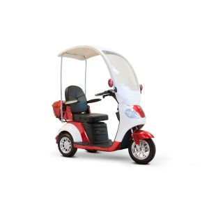 EWheels - EW-44 Luxurious with Hard Canopy 3 Wheel Scooter