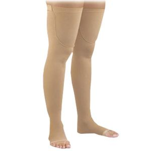 246e33be7a Activa - Anti-Embolism Open Toe Thigh-High 18 mmHg