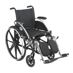 Viper Wheelchair with Flip Back Removable Arms