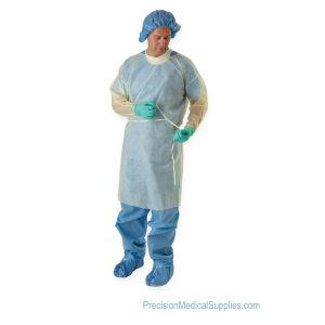 Medline - Classic Cover Lightweight Polypropylene Isolation Gowns