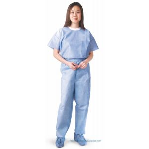 Medline - Disposable Elastic Waist Scrub Pants