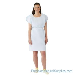 Medline - Disposable Premium Sleeveless Patient Gowns
