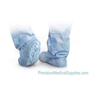 Medline - Spunbond Polypropylene Non-Skid Shoe Covers