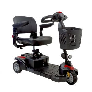 DriveMedical - Spitfire DST 3-Wheel Travel Scooter