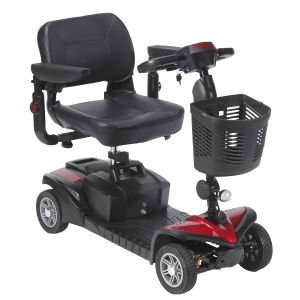 DeVilbiss Healthcare - Spitfire DST 4-Wheel Travel Scooter