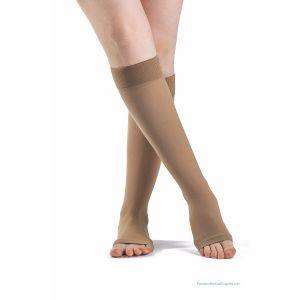 Sigvaris - 860 Select Comfort Knee-High with Grip-Top Open-Toe 20-30mmHg