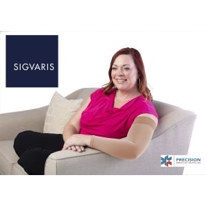 Sigvaris - Secure Armsleeve With Grip-Top 30-40mmHg