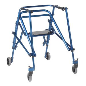 DeVilbiss Healthcare - Nimbo 2G Lightweight Adult Posterior Walker with Seat