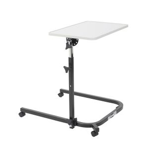 Pivot and Tilt Adjustable Overbed Table Tray