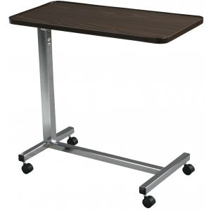 Non Tilt Top Overbed Table