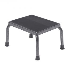 Footstool with Non Skid Rubber Platform