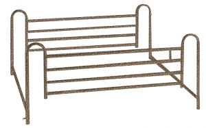 Full Length Hospital Bed Side Rails