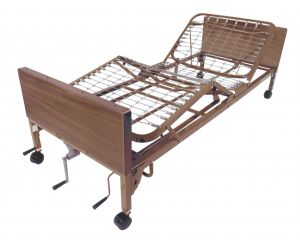 Multi Height Manual Hospital Bed