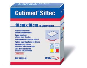 Cutimed - Siltec Super Absorbent Silicone Foam Dressing