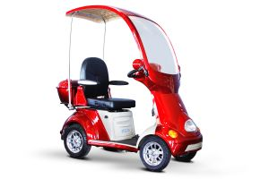 EWheels - 4 Wheel Full Covered scooter - 500lb. Wt. Capacity Scooter