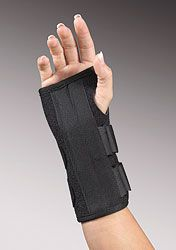 "FLA - Uni-Fit Universal Wrist Splint 8"" Length"
