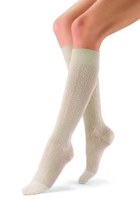 JOBST - soSoft  Knee-High Support  Compression Socks Brocade 30-40 mmHg