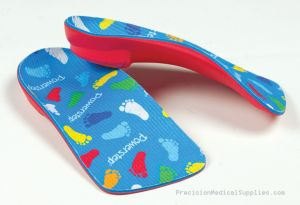 Powerstep - PowerKids Pediatric 3/4 Length Orthotic Insole