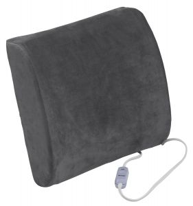 DeVilbiss Healthcare - Comfort Touch Heated Lumbar Support Cushion