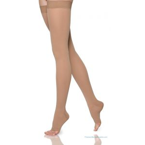 Sigvaris - 860 Select Comfort Thigh-High with Grip-Top Open-Toe 20-30mmHg