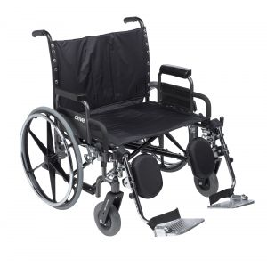 Deluxe Sentra Heavy Duty Extra Extra Wide Wheelchair