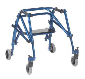 DeVilbiss Healthcare - Nimbo 2G Lightweight Posterior Walker with Seat