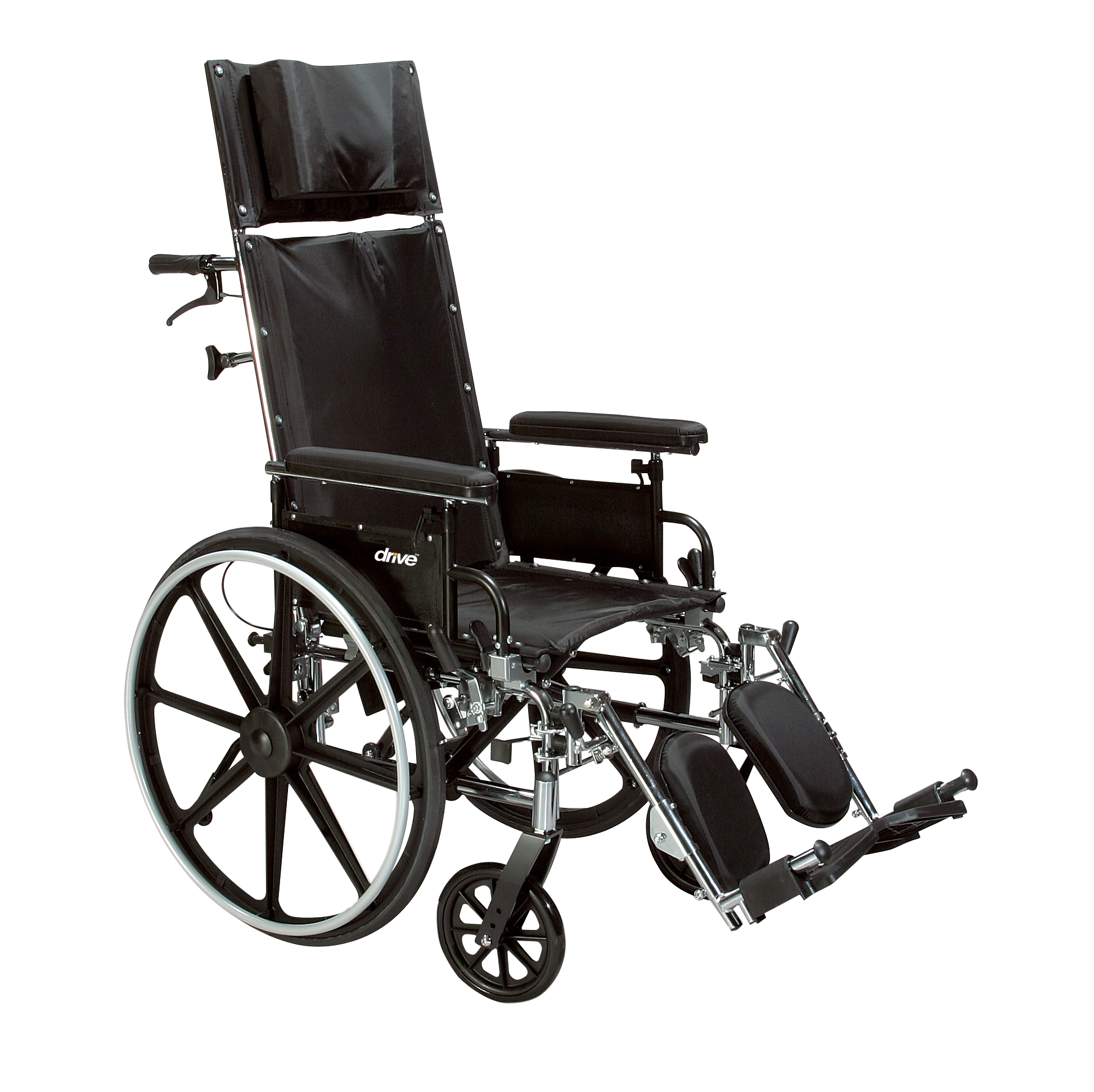 Drive Medical - Viper Plus GT Full Reclining Wheelchair